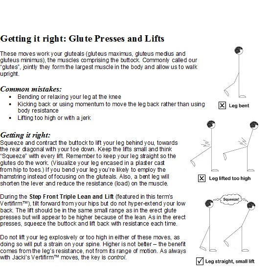 Glute Presses and Lifts