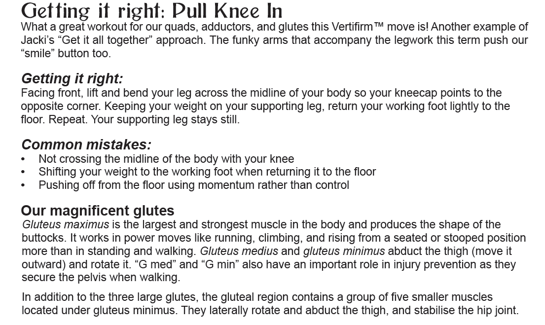 Pull Knee In