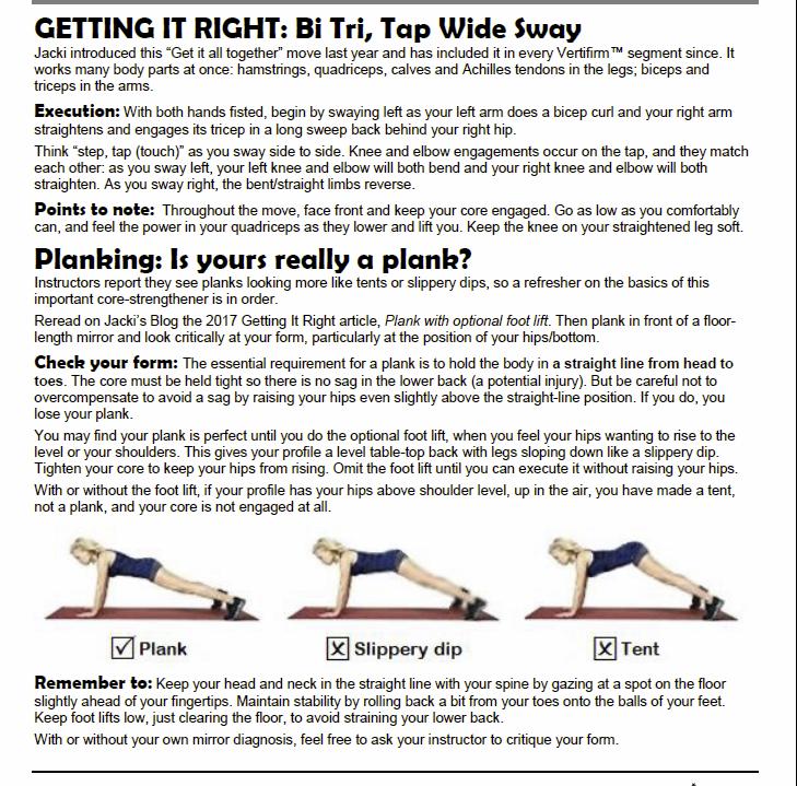 Bi Tri Sway/Plank