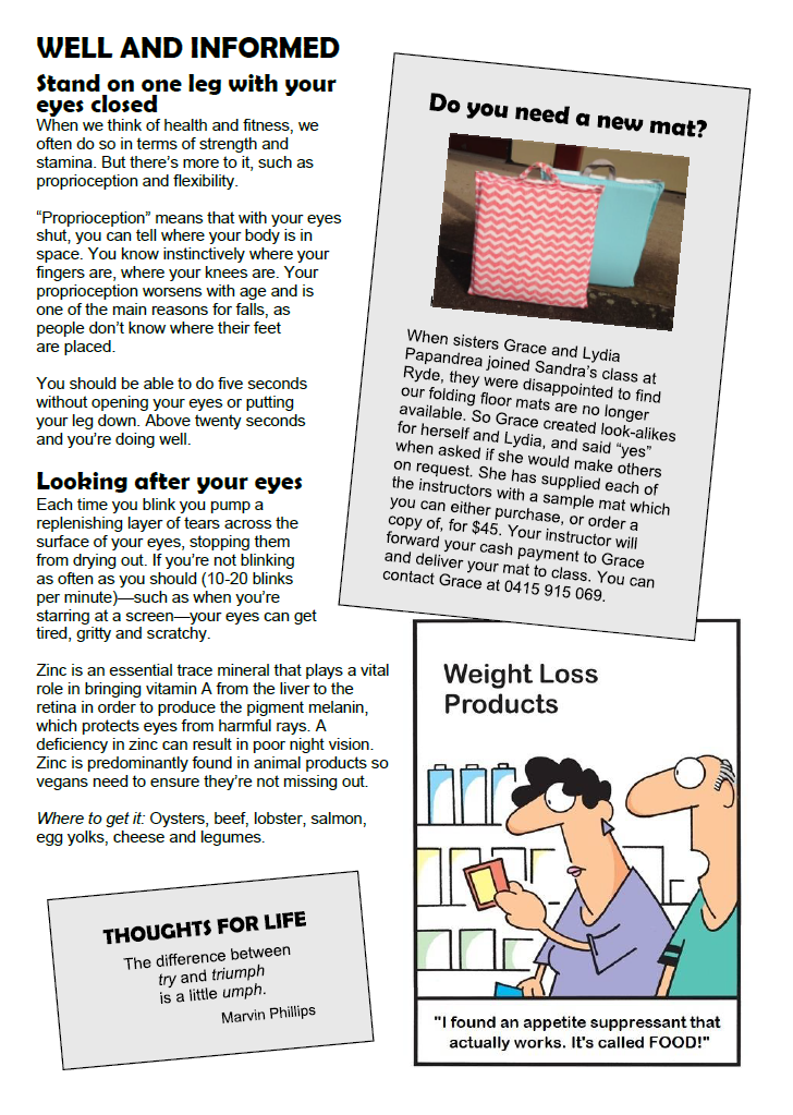March newsletter page 2
